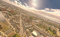 Bristol skys (chris_bond) Tags: willsmemorialbuilding hdr panoramic bristol cabottower parkstreet