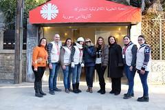 Das Team von Caritas Syrien in Aleppo (Caritas international) Tags: krieg bürgerkrieg personenmitarbeiter caritasinternational visibility aleppo syrien syr
