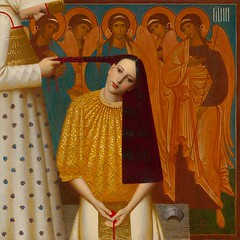 Andrey Remnev—The Unplaiting of the Hair, 1997 via Art of Darkness / artofdarkness.co.vu (ArtAppreciated) Tags: fineart painting blogs tumblr artblogs artappreciated artoftheday artofdarkness artofdarknessco artofdarknessblog andrey remnev contemporary 1990s unplaiting hair 20th century turn 21st date1997 russian art artists artofdarknesscovo darkness daily inspiration fantasy female portraits portraiture figurative surreal