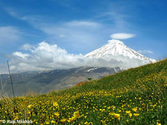 Mount Damavand, plain azoo (Hadi Nikkhah) Tags: canon landscape iran damavand mount  plain        sx40   azoo