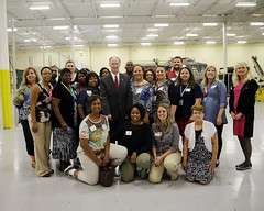 06-11-2014 Teachers with Governor Bentley at SES in Huntsville