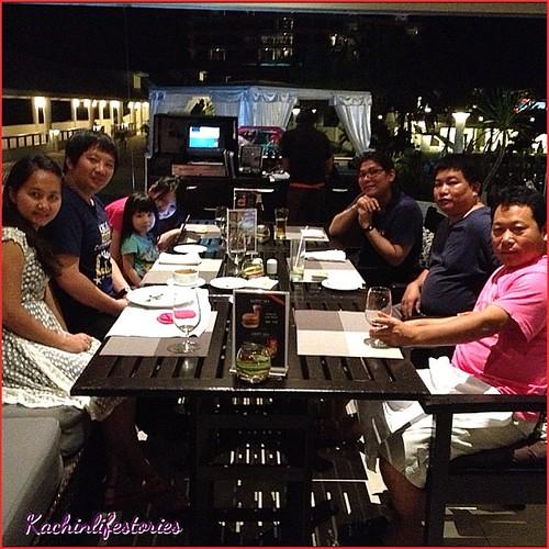 After dinner at Hua Hin Resort in Thailand. #kachinlifestories #dinner #hua #hin #resort #thailand