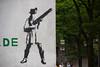 Hamburg (michael_hamburg69) Tags: woman streetart girl female germany deutschland graffiti stencil gun hamburg weapon armed gewehr