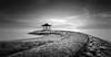 Relaxing II (farizun amrod) Tags: longexposure bali seascape monochrome indonesia relax mono blackwhite jetty ghost denpasar sanur mertasari pantaikarang