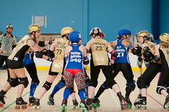 (Andrew Paul Hayward) Tags: girls england sports sport speed paul bay kent nikon raw extreme skating andrew canterbury arena roller portsmouth hayward derby f4 skates herne wenches d700 d300s