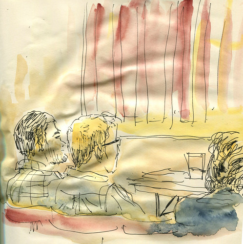 """The Shroud - rehearsal sketch • <a style=""""font-size:0.8em;"""" href=""""http://www.flickr.com/photos/28034404@N02/14443612082/"""" target=""""_blank"""">View on Flickr</a>"""