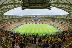 Arena da Amaznia (Luiz C. Salama) Tags: cup canon fifa croatia fisheye worldcup 8mm croacia cameroon camares 2014 copadomundo 70d crocia rokinon club16 copafifa arenadaamazonia arenaamazonia