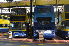 Dublin Bus AV267 02-D-20267 & EV45 07-D-30045 (Will Swain) Tags: city travel ireland dublin bus buses june garage south capital transport southern depot seen 22nd 2014 summerhill ev45 bus' 07d30045 02d20267 av267