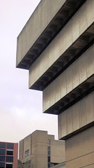 Birmingham Central Library, V (Twizzer88) Tags: uk greatbritain england architecture concrete birmingham unitedkingdom britain modernism westmidlands brutalism modernist brutalist birminghamuk