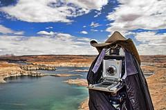 Cyborg Powell (Armin Hage) Tags: arizona lake film utah nikon cowboy bend iii canyon glen page western antelope powell linhof horseshoe 90mm schneider technika angulon