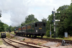 iow - iow steam rly steam train departs havenstreet 09-7-14 JL (johnmightycat1) Tags: railway isleofwight