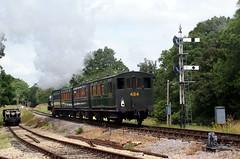 iow - iow steam rly steam train departs havenstreet 09-7-14 JL (johnmightycat1) Tags: railway isleofwight