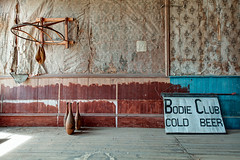 Bodie Club - Cold Beer (KeithJ) Tags: california exercise interior ghosttown bodiestatehistoricpark ioofhall