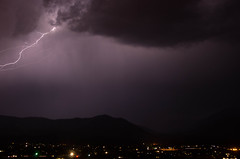 Summer Nights (ArneKaiser) Tags: arizona autoimport flagstaff clouds lightning sky storm flickr