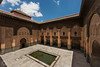 Ben Youssef Madrasa (Bernardo Ricci Armani PhotographingAround.Me) Tags: fountain architecture nikon morocco marrakech d800 madrasa panoramicview coranicschool afszoomnikkor1424mmf28ged