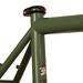 Gunnar Fastlane in Monetary Green - Seat Cluster Detail
