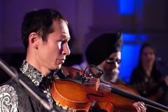 Inner Vision Orchestra (SAA-uk) Tags: portrait music asian 50mm concert nikon audience blind guitar indian south piano violin orchestra colourful tabla sitar singh 18f d3200 leedsinspired