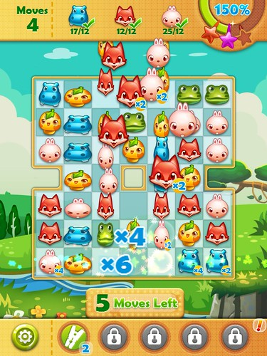 Forest Mania Heads-Up Display: screenshots, UI