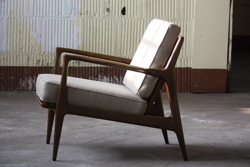 Super Sensual Midcentury Modern Ib Kofod Larsen Lounge Arm Chair Ocoug Best Dining Table And Chair Ideas Images Ocougorg