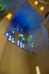 IMGP1462 (aine60) Tags: barcelona espaa church architecture spain pentax iglesia stainedglass gaudi sagradafamilia k5 2014