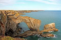 The Green Bridge of Wales (PixelPippa) Tags: pembrokeshire greenbridgeofwales