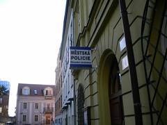 Plzen Police - Czech Republic (jim324w) Tags: travel vacation station europe czech police plzen 2011 europe2011