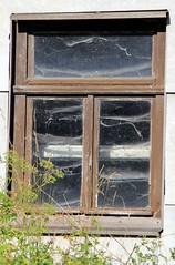 (:Linda:) Tags: window germany town spiderweb thuringia cobweb peelingpaint spinnwebe heinrichs suhl suhlheinrichs