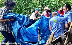 Sustain-A-Raiser in Mirror Lake, NH (G.A.L.A.) Tags: barn community service clothesline sustainability raising permablitz sustainaraiser