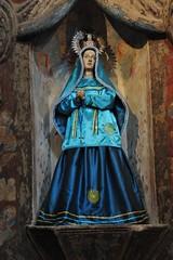 Virgin Mary Tohono O'odham (Ilhuicamina) Tags: arizona catholic maria mary religion saints churches virgin nativeamerican missions
