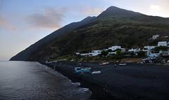 Stromboli (ladigue_99) Tags: volcano sicily sicilia vulcano stromboli aeolianislands blacksandbeach isoleeolie ladigue99 volcanicislands spiaggiasabbianera