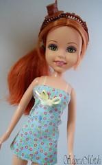 Barbie Wee 3 Friends dolls Splash! Splash! Splash! Lila (sakuramotchi) Tags: friends 3 hair dolls barbie lila collection wee splash mattel