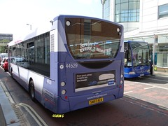 First 44529 (Coco the Jerzee Busman) Tags: uk bus ahead coach go first hampshire southampton