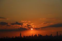 IMG_3134 (ShellyS) Tags: nyc newyorkcity sunset skyline manhattan skylines sunsets queens empirestatebuilding