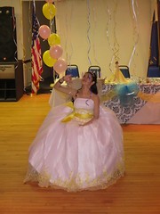 Nya Jimenez at Quinceañera party (RYANISLAND) Tags: birthday family girls girl 14 15 birthdayparty spanish espanol latin latino hispanic latina 2014 quinceañera