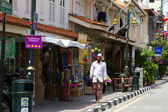 Sunny Side (jean-marc rosseels) Tags: street city man color male colors shop canon georgetown malaysia penang langkawi shophouse canon7d jeanmarcrosseels