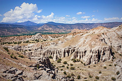 Hoodoos (K. Sawyer Photography) Tags: newmexico spires limestone canyons hoodoos rockformations plazablanca abiquiunewmexico okeeffecountry thewhiteplace georgiaokeeffecountry plazablancanewmexico