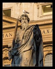 Surprise visitation (MikeJDavis) Tags: vatican stpeters rome basilica stpaul stvincents