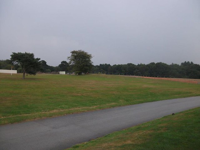 01/08/2014 - A view of the whole site from the Alton Towers Hotel car park.