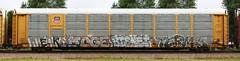 Werks/Moge/Bisket/Terms (quiet-silence) Tags: railroad art up train graffiti ant railcar unionpacific graff freight tko autorack terms fr8 cik wkt bisket werks moge allnation ttgx981190