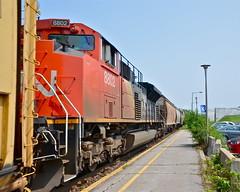 CN 8802 DPU (Michael Berry Railfan) Tags: cn train quebec montreal dorval canadiannational freighttrain emd gmd dpu sd70m2 cn310 montrealsub cn8802