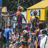 """Vancouver Pride Parade 2014 - 0374 (gherringer) Tags: summer music canada vancouver fun happy bc pride parade balance colourful unicyclists vanpride """"west end"""" rainbowonesie"""