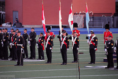 Massed Bands and Honour Guard (Can Pac Swire (away for a bit)) Tags: toronto ontario canada heritage history soldier one 1 1st anniversary military wwi universityoftoronto ceremony canadian 100th soldiers 100 ww1 1914 worldwar forces armedforces 1918 299 centenary bloorstreetwest varsitystadium i 19141918inmemoriam aimg9954 20140731
