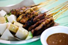 Delicious Satay @ Old Airport Road Market (Rickloh) Tags: food chicken singapore rice asahi traditional rick samsung meat pork foodporn oriental sg satay nx sgfood nx30 samsungnx rickloh foodrickeats nxsg