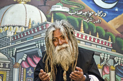 Sufi fakir (PawelBienkowski) Tags: islam sufi sufism fakir fakirs indiamuslims