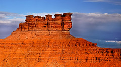 Seven Gods (http://fineartamerica.com/profiles/robert-bales.ht) Tags: beautiful spectacular utah sandstone colorful awesome fineart scenic surreal peaceful sensational navajo southernutah inspirational spiritual majestic magical mesa magnificent inspiring pinnacles monoliths rockformations haybales mexicanhat valleyofthegods buttes sanjuancounty us163 landscaspe canonshooter sandydesert scenicphotography sandstonevalley utahphotography redrockcliffs robertbales americaphotography northamericaphotography redsiltstone