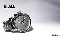Week 32 - Time (Ashey1209) Tags: diesel time designer watch wear jewellery phrase slogan