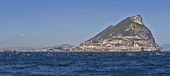 Europa Point, Gibraltar (tony.evans) Tags: sea rock ferry plane marine ship dolphin vessel container bunker dolphins catamaran airbus a380 gibraltar tanker levante straitofgibraltar bayofgibraltar straitride yachtbunkering britishairwaysstraitride
