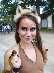 Foxy! (Laurette Victoria) Tags: wisconsin bristol foxy costume renfaire renaissancefaire kenosha