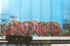 Rank (monolithic landmarks) Tags: train graffiti boxcar graff freight