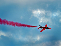 Red in the clouds (john from Canterbury) Tags: red speed spectacular fly flying display hawk aircraft air jets flight jet formation airshow eastbourne reds redarrows raf aerobatics airoplanes airdisplay airbourne rafredarrows flyingdisplay eastbourneairbourne eastbourneairbourne2014